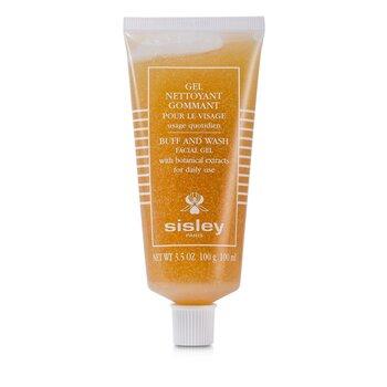 Sisley Botanical  Buff & Wash Facial Gel (Tube)  100ml/3.3oz