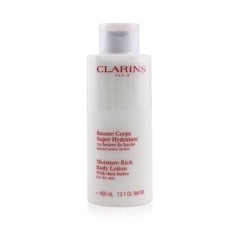 Clarins New Moisture-Rich Body Lotion - For Dry Skin (Super Size Limited Edition)  400ml/14oz