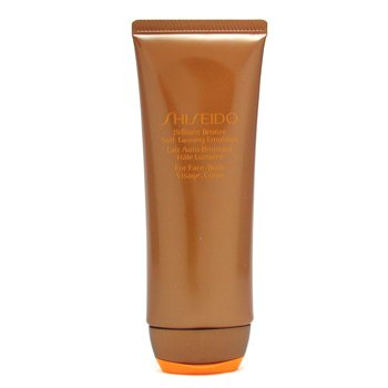 Shiseido Brilliant Bronze Self-Tanning Emulsion (For Face & Body)  100ml/3.5oz