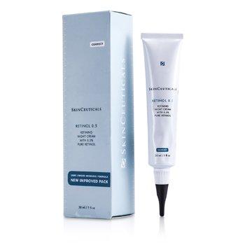 Skin Ceuticals Retinol 0.5  Refining Night Cream  30ml/1oz