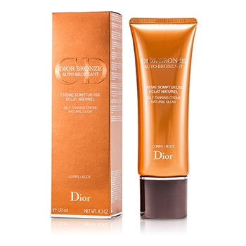 Christian Dior Dior Bronze Self Tanner Cream Natural Glow For Body  120ml/4.3oz