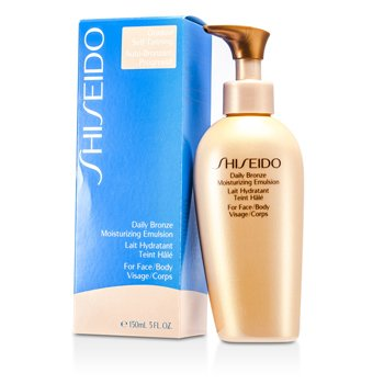 Shiseido Daily Bronze Moisturizing Emulsion (For Face / Body)  150ml/5.1oz