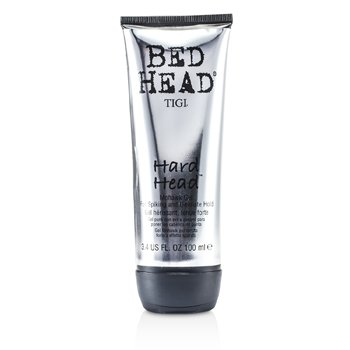 Tigi Bed Head Hard Head - Mohawk Gel For Spiking & Ultimate Hold  100ml/3.4oz