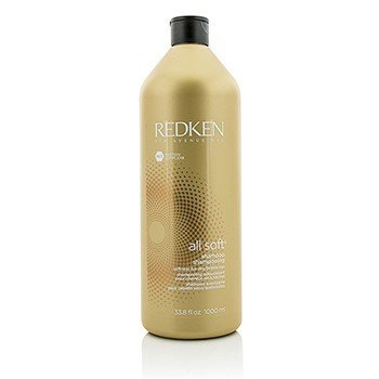 Redken All Soft Shampoo (For Dry/ Brittle Hair)  1000ml/33.8oz