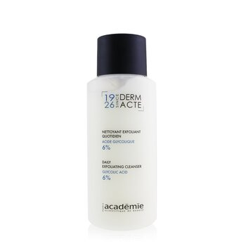 Academie Derm Acte Daily Exfoliating Cleanser - Glycolic Acid 6%  250ml/8.4oz