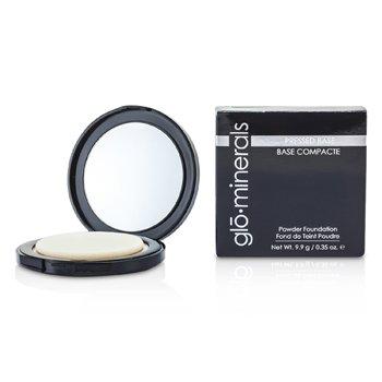 GloMinerals GloPressed Base (Powder Foundation) - Golden Dark  9.9g/0.35oz