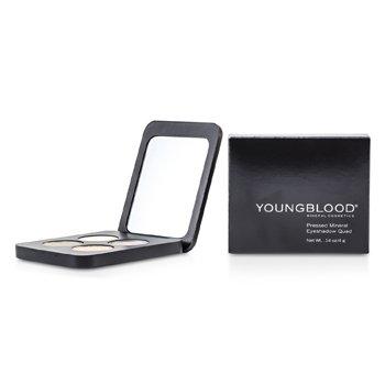 Youngblood Pressed Mineral Eyeshadow Quad - Gemstones  4g/0.14oz