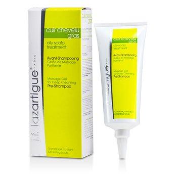 J. F. Lazartigue Massage Gel for Deep Cleansing Pre-Shampoo (Oily Scalp Treatment)  75ml/2.54oz