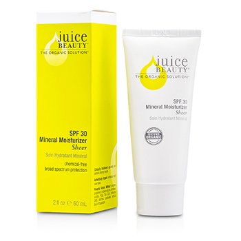 Juice Beauty Mineral Sheer Moisturizer SPF30 (Tube)  60ml/2oz