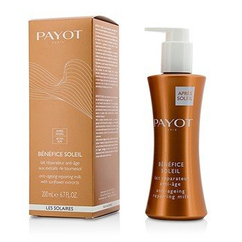 Payot Benefice Soleil Anti-Aging Repairing Milk (For Face & Body)  200ml/6.7oz