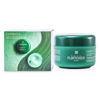Rene Furterer Curbicia Purifying Clay Shampoo (For Oily Scalp)  200ml/7.13oz