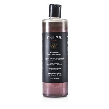 Philip B Lavender Hair & Body Shampoo (For All Hair Types, Color Protecting & Preserving)  350ml/11.8oz