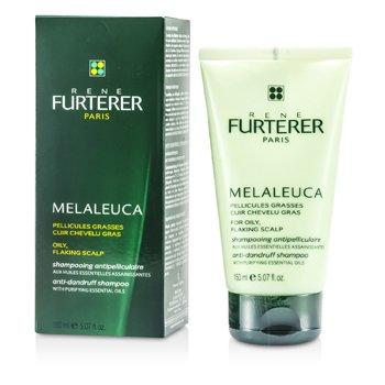 Rene Furterer Melaleuca Anti-Dandruff Shampoo (For Oily, Flaking Scalp)  150ml/5oz