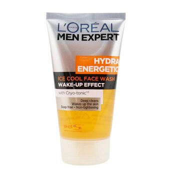 L'Oreal Men Expert Hydra Energetic Foaming Cleansing Gel  150ml/5oz