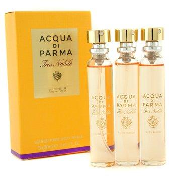 Acqua Di Parma Iris Nobile Leather Purse Spray Refills Eau De Parfum  3x20ml/0.7oz