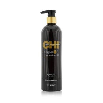 CHI Argan Oil Plus Moringa Oil Shampoo - Sulfate & Paraben Free  739ml/25oz