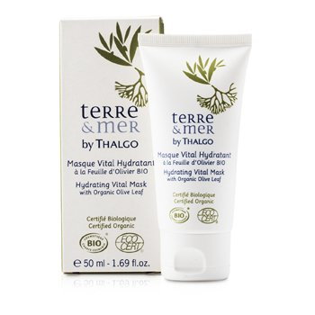 Thalgo Terre & Mer Hydrating Vital Mask With Organic Olive Leaf  50ml/1.69oz