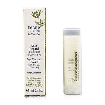 Thalgo Terre & Mer Eye Contour Cream With Organic Olive Leaf  15ml/0.51oz