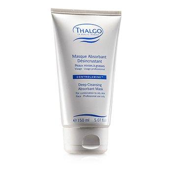 Thalgo Deep Cleansing Abosrbant Mask (Combination to Oily Skin) (Salon Size)  150ml/5.07oz