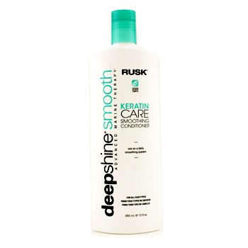 Rusk Deepshine Smooth Keratin Care Smoothing Conditioner  355ml/12oz