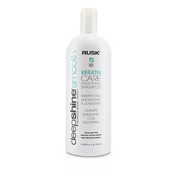 Rusk Deepshine Smooth Keratin Care Smoothing Shampoo  1000ml/33.8oz