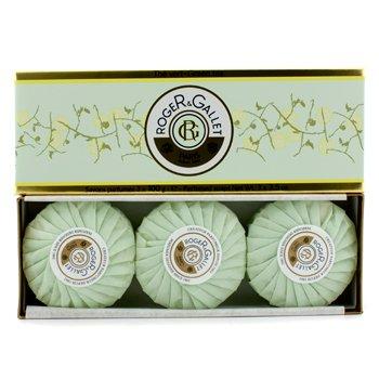 Roger & Gallet Green Tea (The Vert) Perfumed Soap Coffret  3x100g/3.5oz