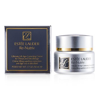 Estee Lauder Re-Nutriv Ultimate Lift Age-Correcting Creme for Throat and Decollectage  50ml/1.7oz