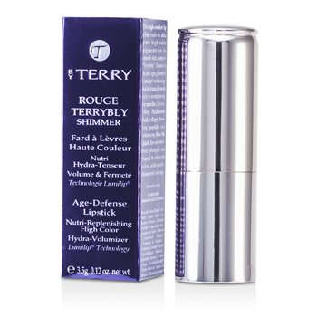 By Terry Rouge Terrybly Shimmer Age Defense Lipstick - # 801 So Flamenco  3.5g/0.12oz
