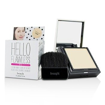 Benefit Hello Flawless! Custom Powder Cover Up For Face SPF15 - # I Love Me (Ivory)  IB163  7g/0.25oz