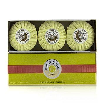 Roger & Gallet Fleur d' Osmanthus Perfumed Soap Coffret  3x100g/3.5oz