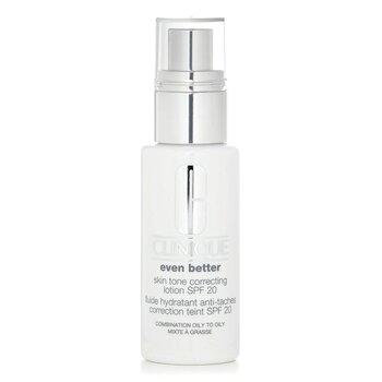 Clinique Even Better Skin Tone Correcting Lotion SPF 20 (Combination Oily to Oily)  50ml/1.7oz