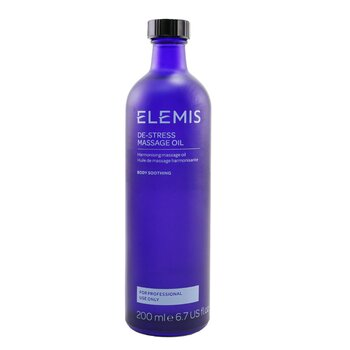 Elemis De-Stress Massage Oil (Salon Size)  200ml/6.7oz