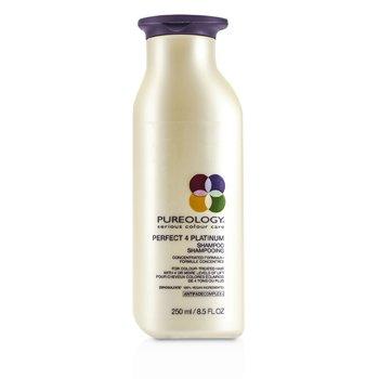 Pureology Perfect 4 Platinum Shampoo (For Colour-Treated Hair)  250ml/8.5oz