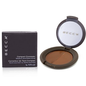 Becca Compact Concealer Medium & Extra Cover - # Molasses  3g/0.07oz
