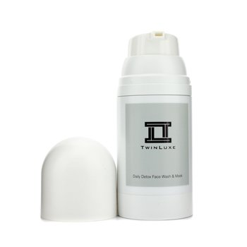 Twinluxe Daily Detox Face Wash & Mask  150ml/5oz