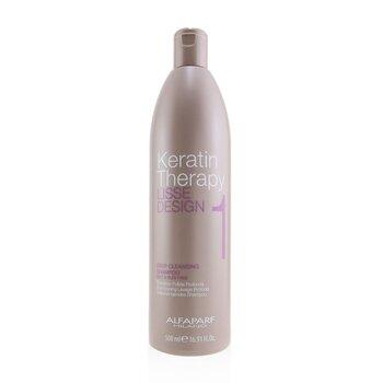 AlfaParf Lisse Design Keratin Therapy Deep Cleansing Shampoo  500ml/16.91oz