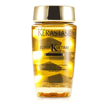Kerastase Elixir Ultime Oleo-Complexe Sublime Cleansing Oil Shampoo (For All Hair Types)  250ml/8.5oz
