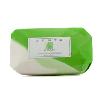 Zents Pear Ultra Rich Shea Butter Soap  163g/5.7oz
