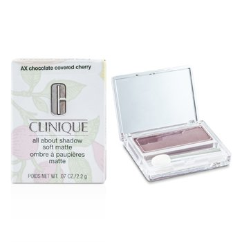 Clinique All About Shadow - # AX Chocolate Covered Cherry (Soft Matte)  2.2g/0.07oz
