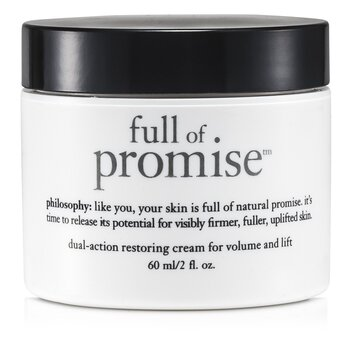 Philosophy Full Of Promise Dual-Action Restoring Cream For Volume & Lift  60ml/2oz