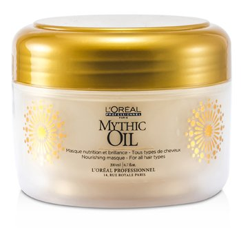L'Oreal Professionnel Mythic Oil Nourishing Masque (For All Hair Types)  200ml/6.7oz