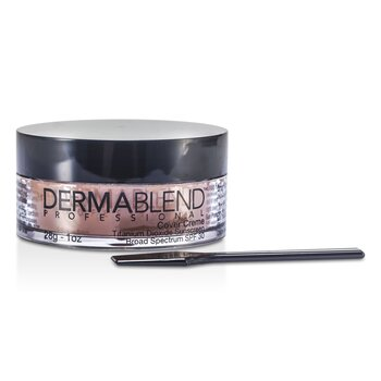 Dermablend Cover Creme Broad Spectrum SPF 30 (High Color Coverage) - Toasted Brown  28g/1oz
