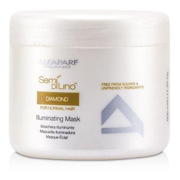AlfaParf Semi Di Lino Diamond Illuminating Mask (For Normal Hair)  500ml/16.9oz
