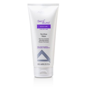 AlfaParf Semi Di Lino Moisture Nutritive Mask (For Dry Hair)  200ml/6.76oz