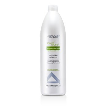 AlfaParf Semi Di Lino Reconstruction Reparative Shampoo (For Damaged Hair)  1000ml/33.81oz