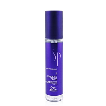 Wella SP Exquisite Gloss Shine Concentrate (For Shiny, Sleek Hair)  40ml/1.3oz