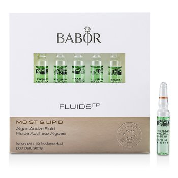 Babor Fluids FP Algae Active Fluid (Moist & Lipid, For Dry Skin)  7x2ml/0.07oz