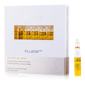 Babor Fluids FP Multi Active Vitamin Fluid (Moist & Lipid) - For Dry Skin  7x2ml/0.07oz