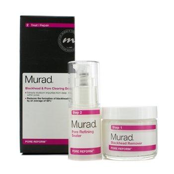 Murad Pore Reform Blackhead & Pore Clearing Duo: Blackhead Remover 50g + Pore Refining Sealer 15ml  2pcs