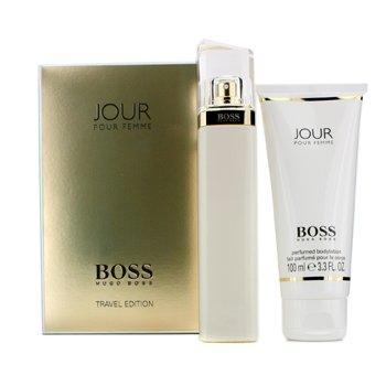 Hugo Boss Boss Jour Travel Edition Coffret: Eau De Parfum Spray 75ml/2.5oz + Body Lotion 100ml/3.3oz  2pcs